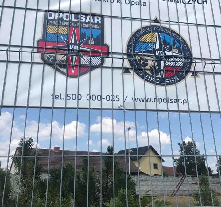 Ośrodek Szkolenia Psów Ratowniczych OPOLSARU w Nakle już otwarty !!!