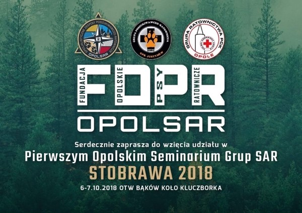Zapraszamy na Pierwsze Opolskie Seminarium Grup SAR – STOBRAWA 2018