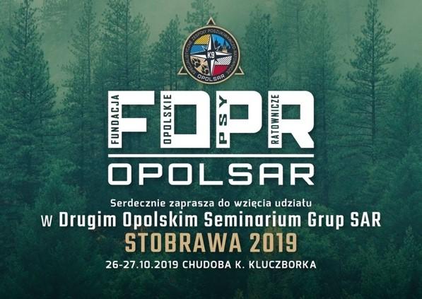 Zapraszamy na Drugie Opolskie Seminarium Grup SAR – STOBRAWA 2019