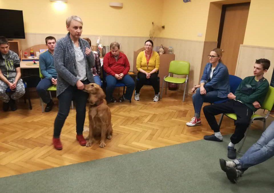 Z wizytą u mieszkańców internatu Specjalnego Ośrodka Szkolno – Wychowawczego w Kluczborku.