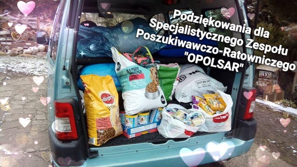 Wsparliśmy zwierzęta z Azylu w Bogdańczowicach