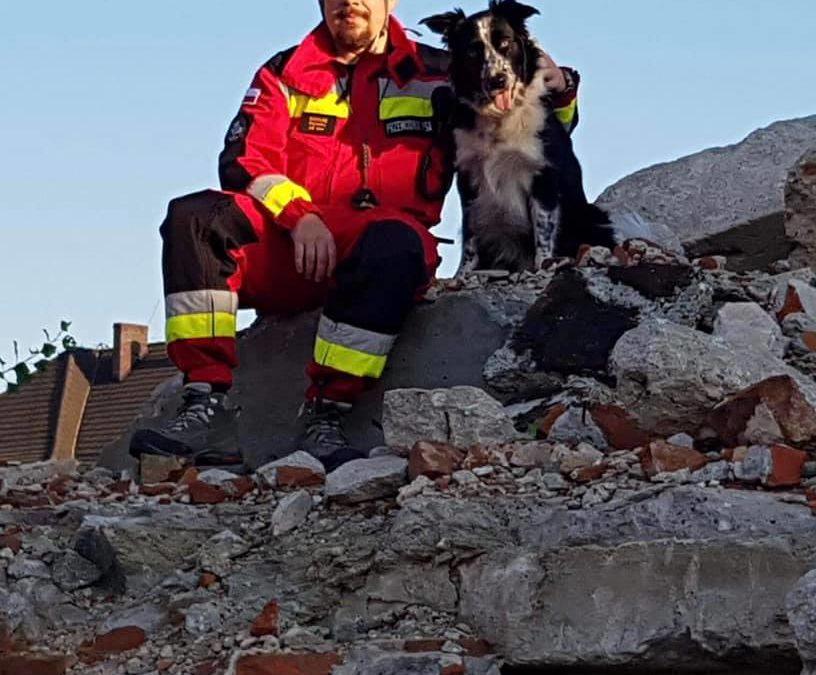 Prezes OPOLSARU – Specjalistą Wojewódzkim Państwowej Straży Pożarnej w zakresie ratownictwa technicznego (poszukiwanie osób).