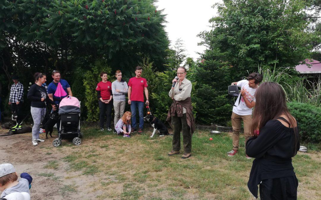 Rodzinny DogTrekking w Jasieniu.
