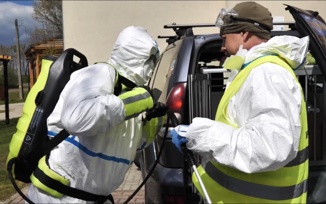 OPOLSAR kolejny raz zaangażował się w działania związane z pandemią COVID-19.