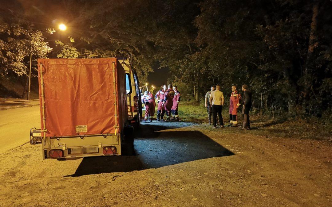 Nocne poszukiwania w Nysie.