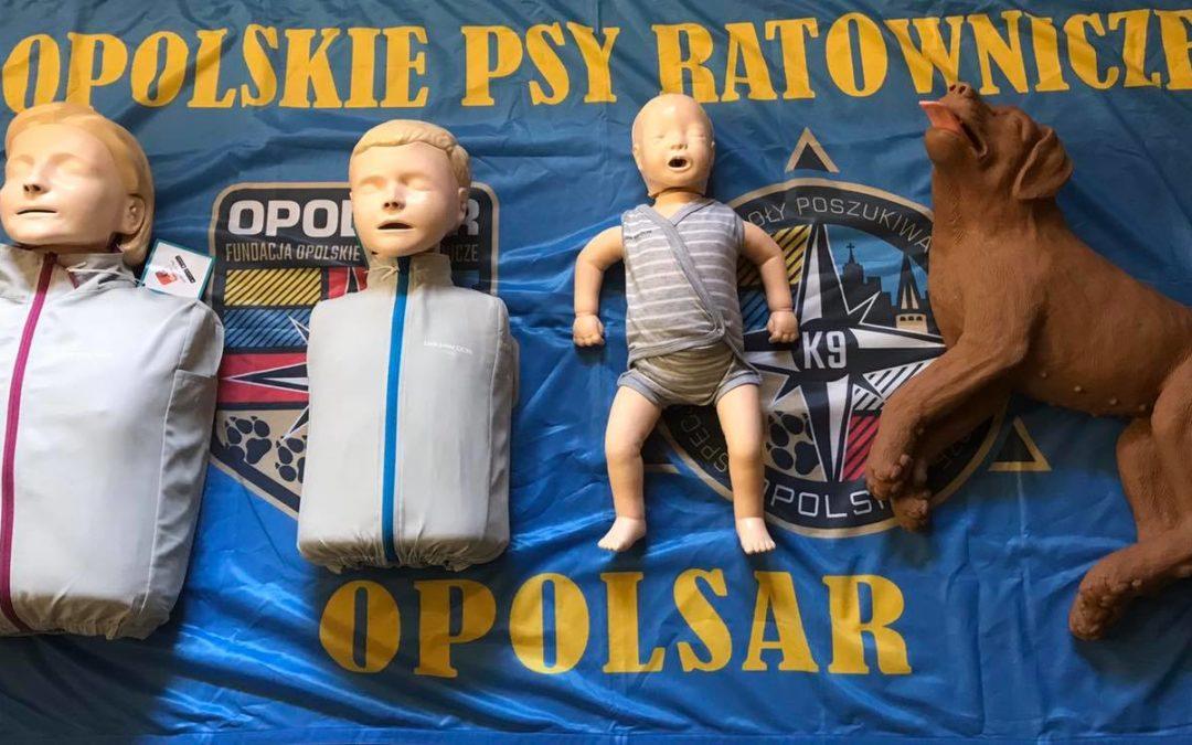 Kolejne specjalistyczne fantomy trafiły do ratowników OPOLSARU.