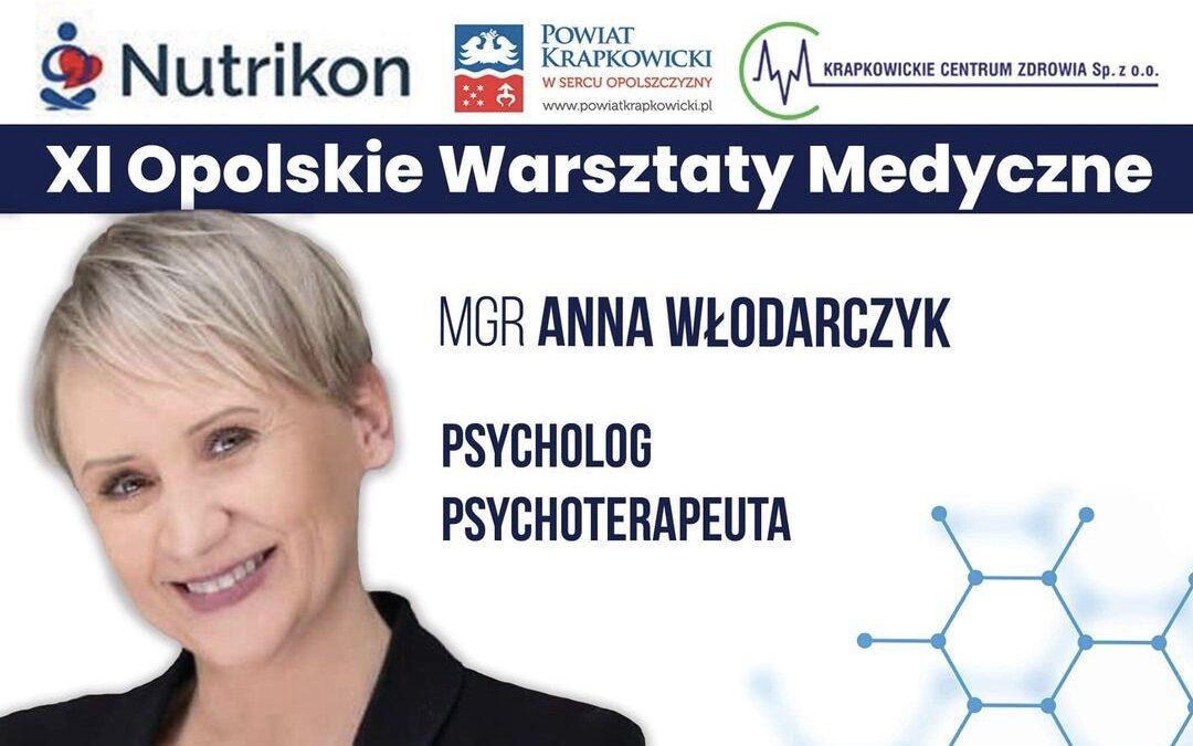 Wiceprezes OPOLSARU prelegentem XI Opolskich Warsztatów Medycznych.