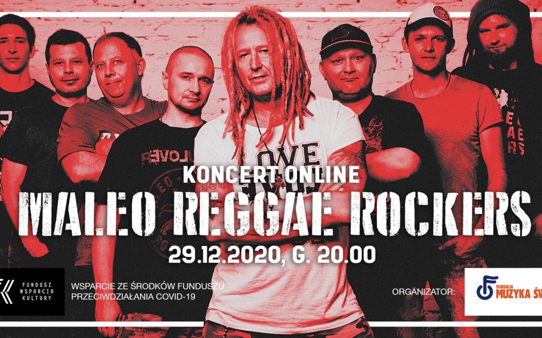 Zapraszamy na koncert live zespołu MALEO REGGAE ROCKERS, którego jednym z muzyków jest nasz wolontariusz.