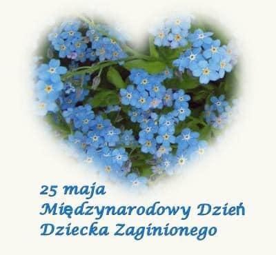 Dzisiaj obchodzimy Międzynarodowy Dzień Dziecka Zaginionego.