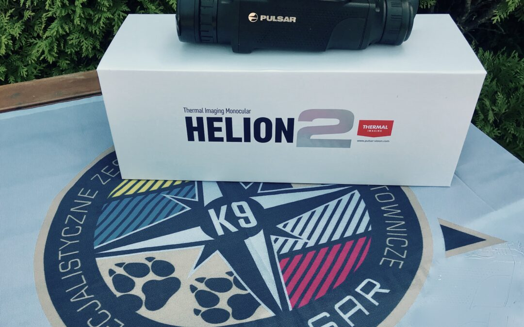 Od dziś pracę naszych ratowników wspomaga kamera termowizyjna Pulsar Helion 2.